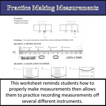 Practice Making Measurements