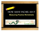 Practice Measuring in inches worksheets
