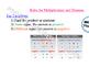 Practice Multipling & Dividing Integers
