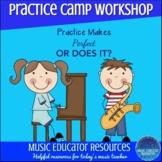 Practice Music Workshop