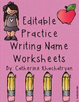 Practice Name Writing