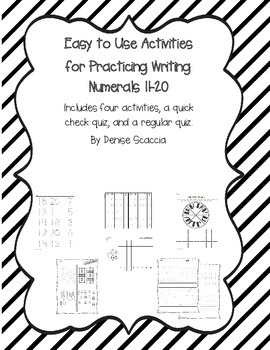 Practice Writing 11-20 in a Meaningful Way