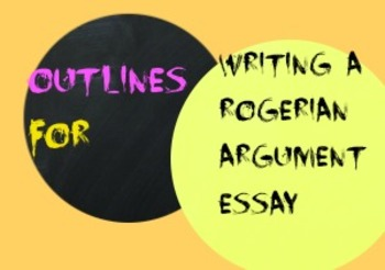 Practice Outlining a Rogerian Argument Essay
