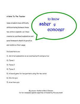 Practice * Pac ~ saber y conocer