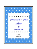 Practice * Pac ~ saber y conocer ~ Spanish Distance Learning