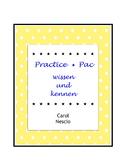 Practice * Pac ~ wissen und kennen ~ German Distance Learning