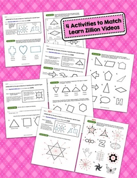 Practice Packet for Use with Learn Zillion Grade 4 Geometry CCSS 4.G.3