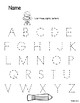 Practice Pages Alphabet and Numbers 1-20