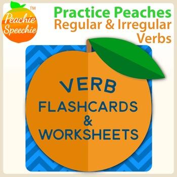 Practice Peaches: Regular and Irregular Verbs