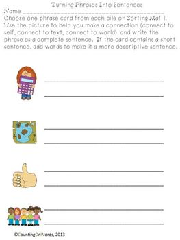 Practice, Play, Connect with Fry's Phrases: Sample of Fourth 100 Words