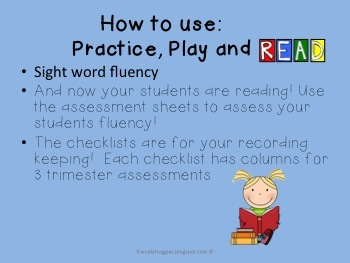 Practice, Play and Read!