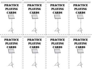 Practice Playing Cards