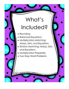 Practice Pockets Math Bundle