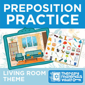 Practice Prepositions All From the Comfort of a... Living Room!