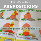 Practice Prepositions: Where is The Duck?