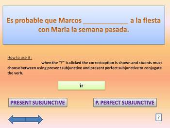 Practice Present Subjunctive and Present Perfect Subjunctive