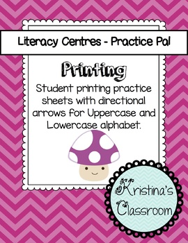 Practice Printing Lowercase and Uppercase Alphabet