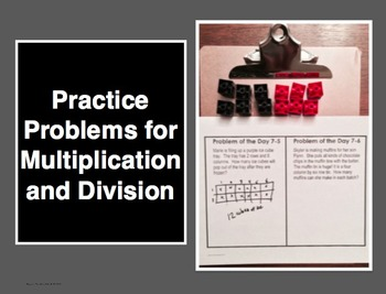 Word Problems for Multiplication and Division: 9 CGI Probl