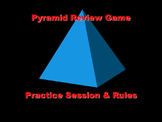 Practice Pyramid Review Game - World History & Psychology