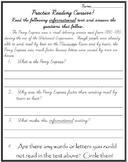 Practice Reading Cursive