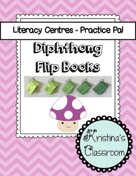 Practice Reading Diphthong Flip Books