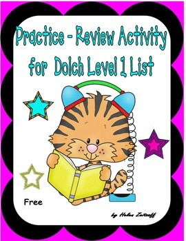 Practice - Review for All Level 1 Dolch Sight Words