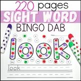 Sight Word Practice with Daubers | Sight Word Activities {
