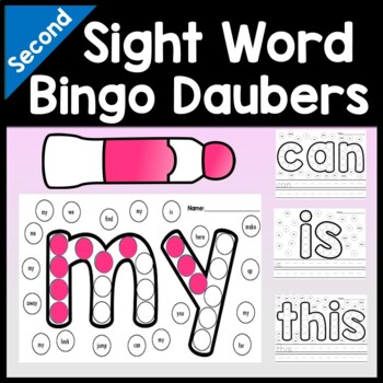 Sight Word Stations with Daubers {46 words!}