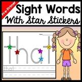 Kindergarten Literacy Centers with Stickers {40 Words!}