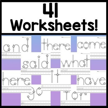 First Grade Literacy Centers with Stickers {41 words!}