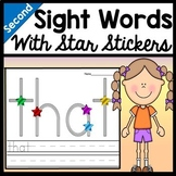 Second Grade Literacy Centers with Stickers {46 words!}