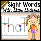 Sight Word Centers with Star Stickers {52 Pages!}