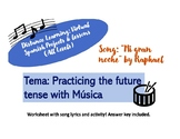 "Practice Spanish Future Tense with ""Mi gran noche"" - Song Lyrics & Activity"