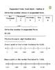 Practice Standard Form/Expanded Form Worksheets