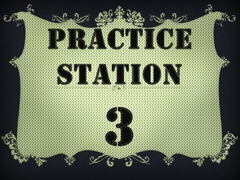 Cute Free Pdf! Practice Stations! Band, Orchestra, Chorus Music Lessons