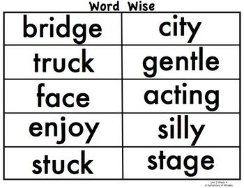 Practice Stations: Unit 3, Word Wise, 3rd Grade, Reading Street 2011 C. Core Ed.