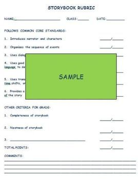 STORYBOOK TEMPLATES FOR PROJECTS