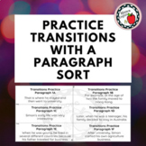 Practice Transitions with 7 FREE Paragraph Sorts