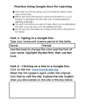 Practice Using Google Docs for Learning