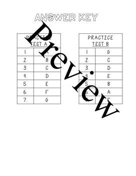 Practice Vocabulary Test