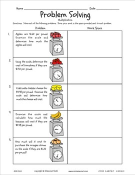 Practice With Decimals Workbook