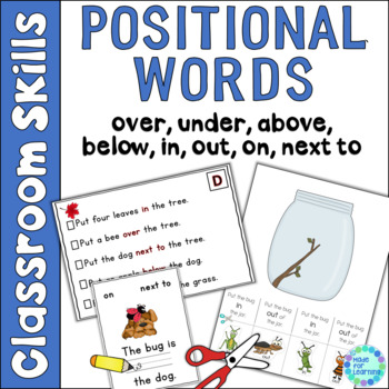 positional word practice activities by kathryn garcia made for