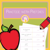 Practice With Prefixes for English Learners