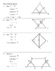 Practice Worksheet: Double Triangle Proofs