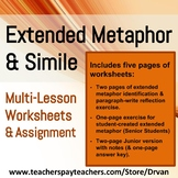 Practice Writing Extended Metaphors (Similes & Metaphors) (Creative Writing)