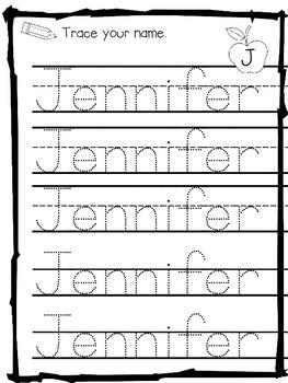 Practice Writing Names