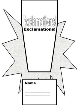 Practice Writing  Questions, Exclamations, Statements