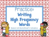 Practice: Writing Sight Words/High Frequency Words