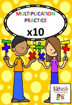 Practice Your 10 Times Tables