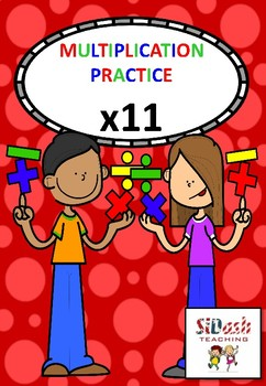 Practice Your 11 Times Tables